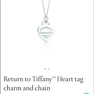 NWT TIFFANY NECKLACE